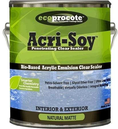 Ecoprocote Acri Soy Penetrating Clear Sealer