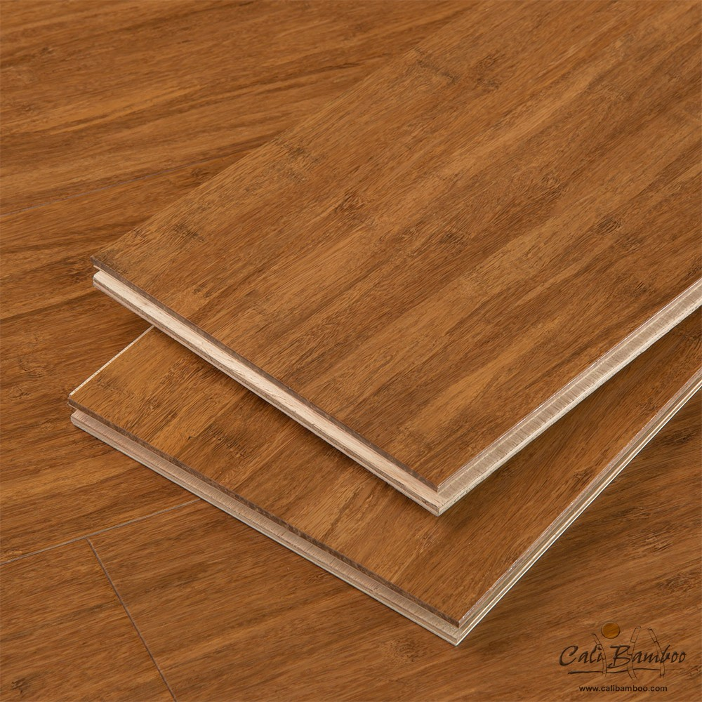 Cali bamboo eco engineered flooring java fossilized for Eco bamboo flooring
