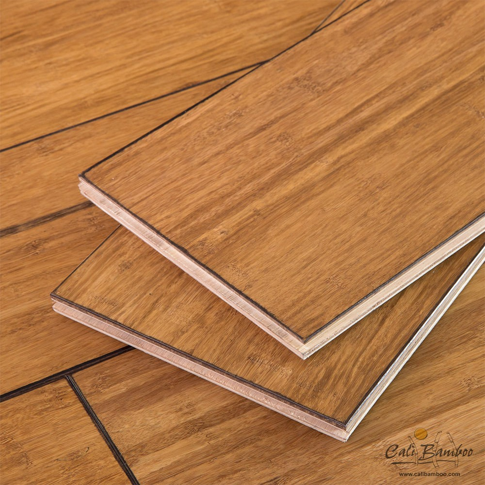 Cali Bamboo Eco Engineered Flooring Distressed Mocha