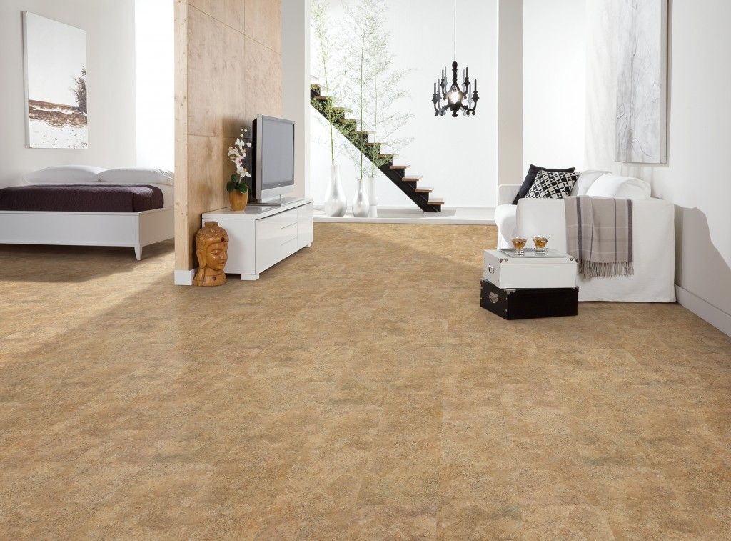 US Floors COREtec Plus Tile Noce Travertine