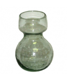 reycled bulb vase clear