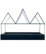 Fortune's Case Recycled Glass Terrarium