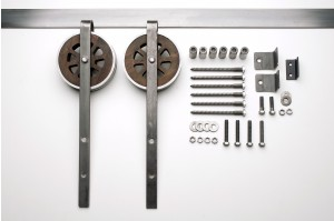 Artisan Strap Barn Door Hardware