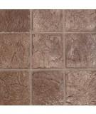 "12"" x 12"" Belgium Slate Tile Sand Grout Lines"