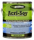 Ecoprocote Acri-Soy Penetrating Clear Sealer
