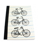 recycled paper journal bicycle