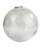Crackled Glass Sphere