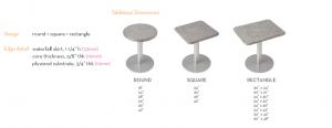 Alkemi Table Top Rectangle