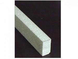 "1 1/2"" High Density Foam Rails"