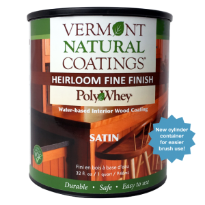 Vermont Natural Coatings PolyWhey Heirloom Wipe-On